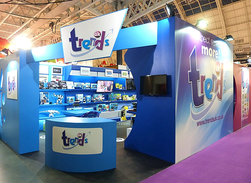 Trends UK Exhibition Stand