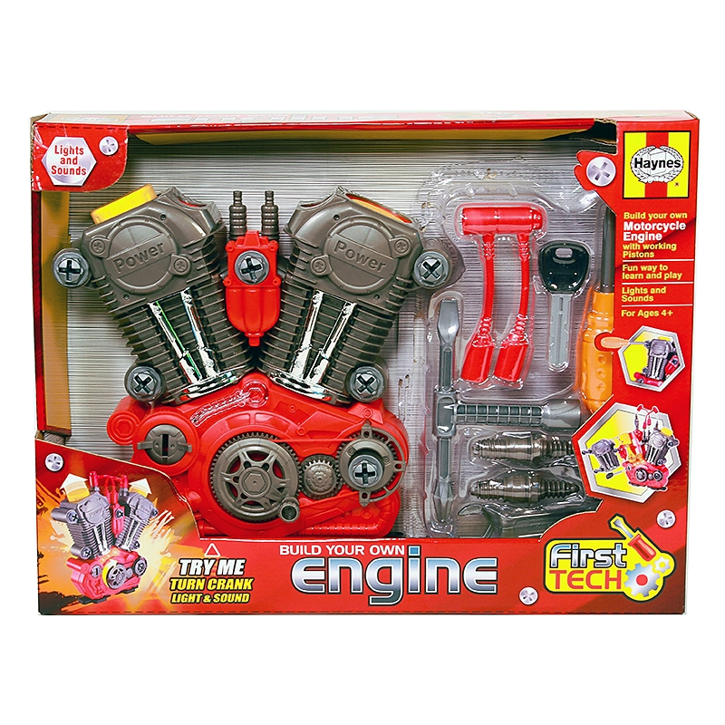 First tech engine kit for Motor kits for kids