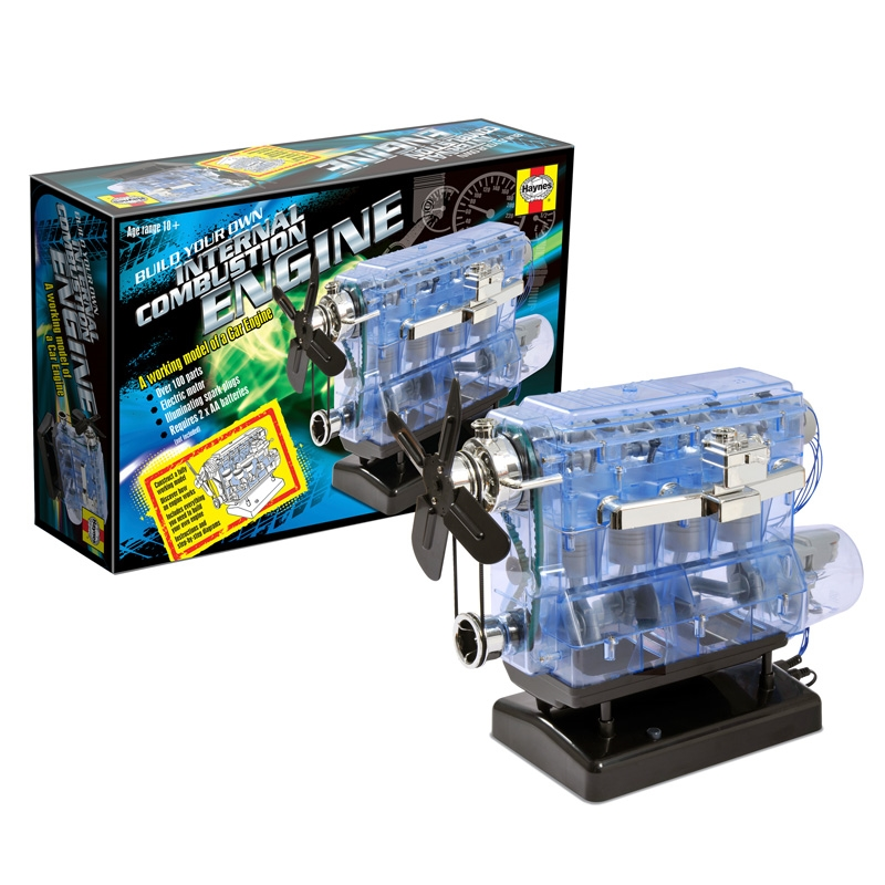 haynes build your own internal combustion engine instructions