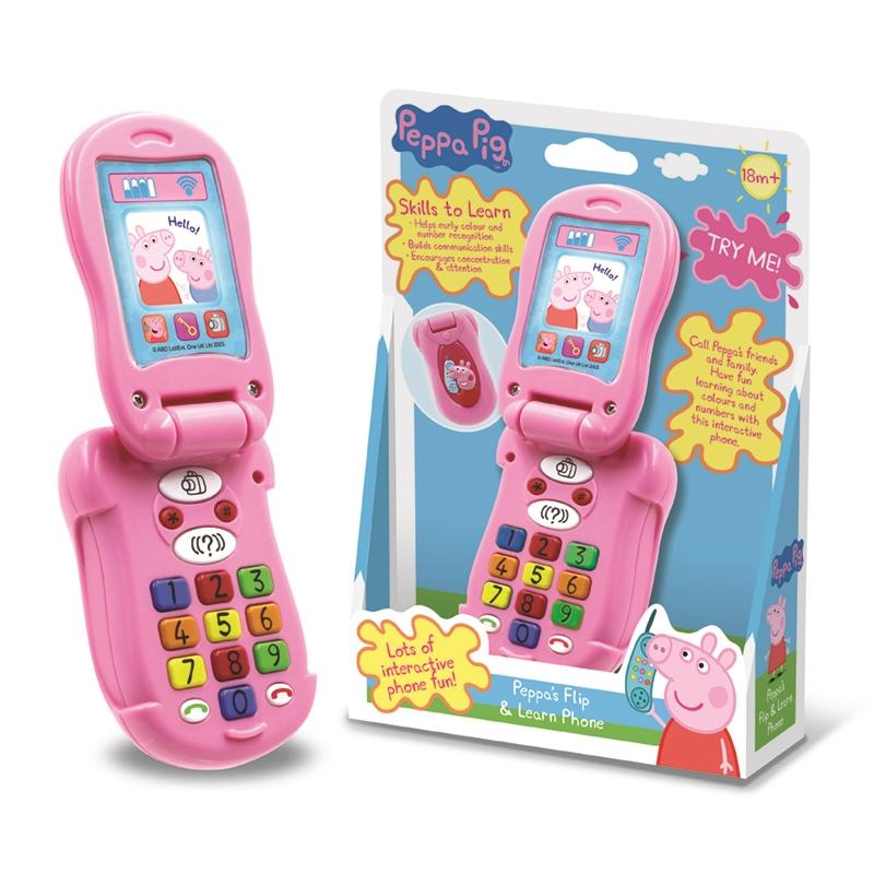 Peppa S Flip Amp Learn Phone