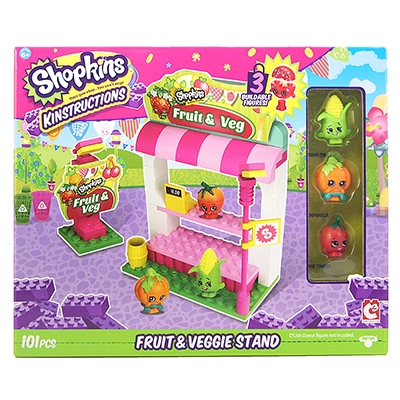 Shopkins™ Kinstructions Fruit & Veggie Stand