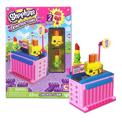 Shopkins™ Kinstructions Checkout - Lippy Lips & Polly Polish