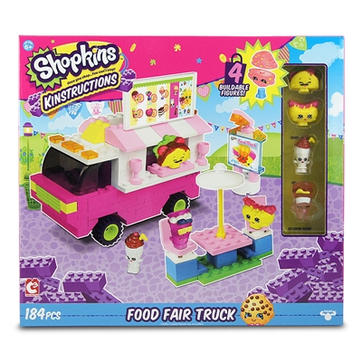 Shopkins™ Kinstructions Food Fair Truck Series 2