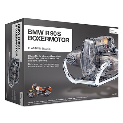 BMW Motorcycle Model Engine