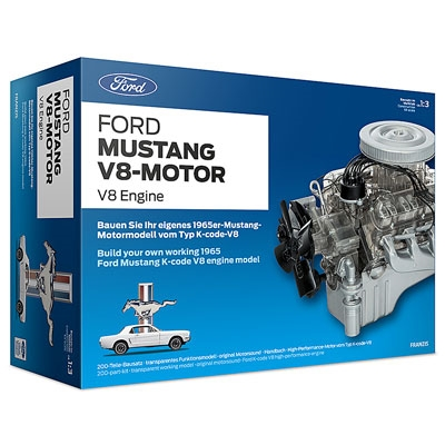 Ford Mustang V8 Model Engine