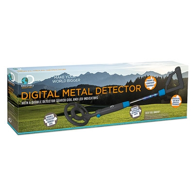 Discovery Adventures Digital Metal Detector