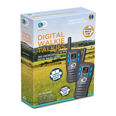Discovery Adventures Digital Walkie Talkies