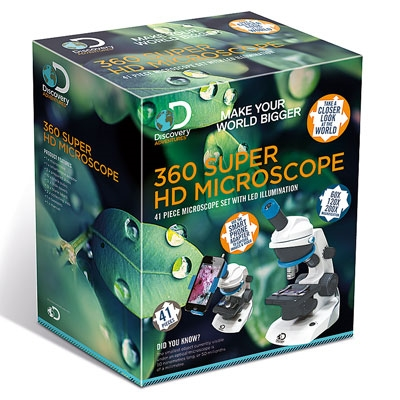 Discovery Adventures 360° Super HD Microscope