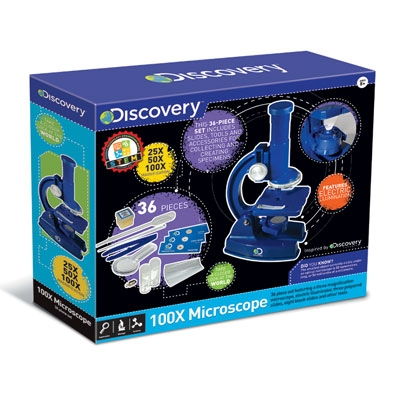 Discovery 100x Microscope