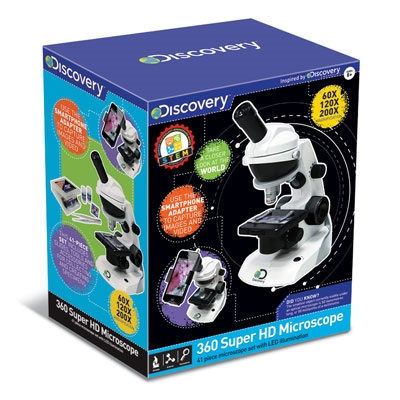 Discovery 360° Super HD Microscope
