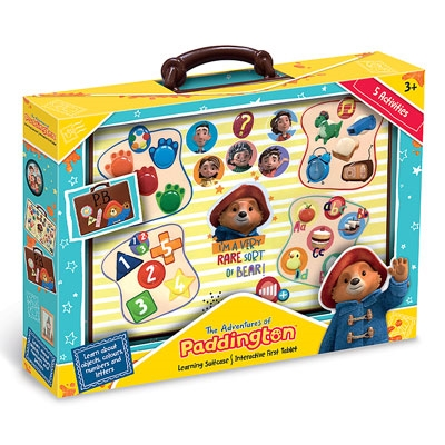Paddington's Learning Suitcase