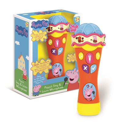 Peppa Pig's Sing & Learn Microphone