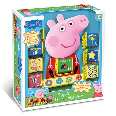 Peppa's Phonic Alphabet