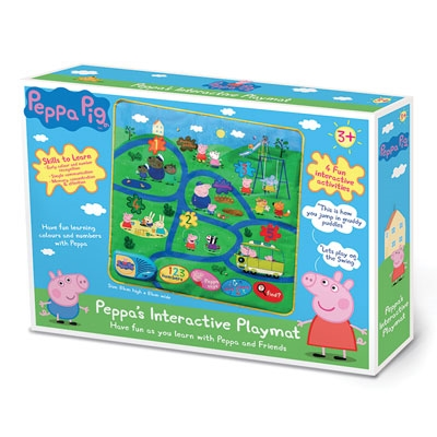 Peppa Pig's Interactive Playmat