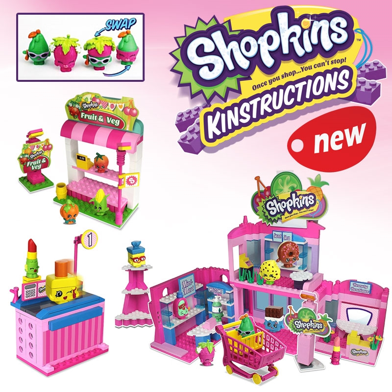 Shopkins Kinstructions Playsets Now Available!