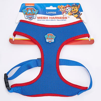 PAW Patrol Mesh Fabric Pet Harness - Large