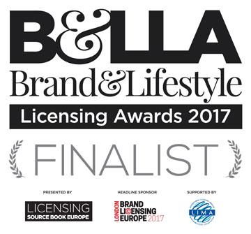 B&LLA Brand & Lifestyle Licensing Awards 2017 Finalist
